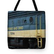 Chesapeake And Ohio Boxcar  Tote Bag