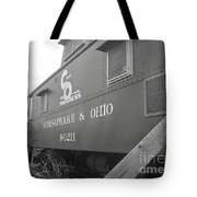 Chesapeake And Ohio Tote Bag