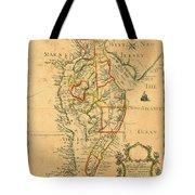 Chesapeake Bay 1786 Tote Bag