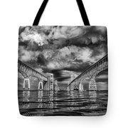 Chesapeake Bay Bw Tote Bag