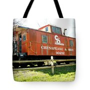 Chesapeake -ohio Rr Tote Bag