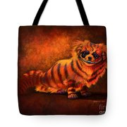 Cheshire Canine Tote Bag