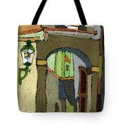 Chesky Krumlov Old Street Latran  Tote Bag