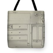 Chest Of Drawers Tote Bag