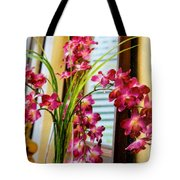 Chester House Flowers Tote Bag