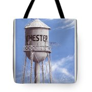 Chester Water Tower Poster Tote Bag