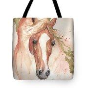 Chestnut Arabian Horse 2016 08 02 Tote Bag