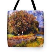 Chestnut Tree Blooming 1881 Tote Bag