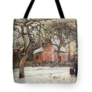 Chestnut Trees At Louveciennes Tote Bag