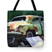 Chev At Rest Tote Bag