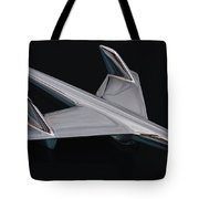Chevrolet Bel Air Hood Ornament Tote Bag