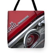 Chevrolet Chevelle Ss Taillight Emblem 2 Tote Bag