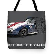 Chevrolet Corvette Convertible L88 1968,original Fast Race Car Tote Bag