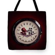 Chevrolet Corvette, Corvette Logo Tote Bag
