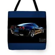 Chevrolet Corvette Z06 Tote Bag