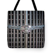 Chevrolet Grill Tote Bag