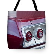 Chevrolet Impala Ss Taillight 2 Tote Bag