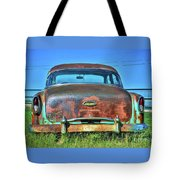 Chevrolet Power Glide 1954 Tote Bag