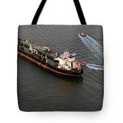 Chevron Pegasus Voyager Oil Tanker Tote Bag