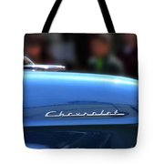 Chevy Blues Tote Bag