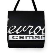 Chevy Camaro Emblem Tote Bag