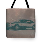 Chevy Camaro Tote Bag by Naxart Studio