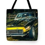 Chevy Camaro Tote Bag