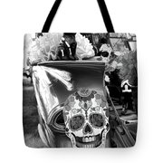 Chevy Decor Day Of Dead Bw Tote Bag