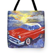 Chevy Dreams Tote Bag