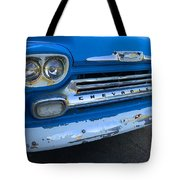 Chevy Grill Tote Bag