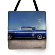 Chevy Impala Tote Bag