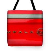 Chevy Impala Ss 237 Tote Bag