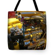 Chevy Motor - Side View Tote Bag