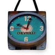 Chevy Neon Clock Tote Bag