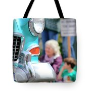 Chevy On Parade Tote Bag