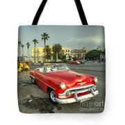Chevy On The Prom  Tote Bag