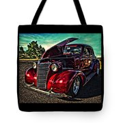 Chevy On The Run Tote Bag