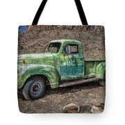 Chevy Truck Route 66 Tote Bag