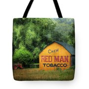 Chew Red Man Tote Bag