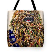 Chewbacca Star Wars Awakens Afrofuturist Collection Tote Bag