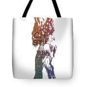 Chewbacca Typography Tote Bag