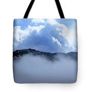 Cheyenne Mountain Tote Bag