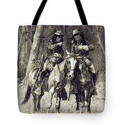 Cheyenne Scouts Patrolling The Big Timber Of The North Canadian, Tote Bag
