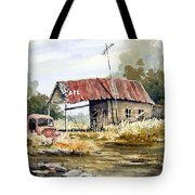 Cheyenne Valley Station Tote Bag