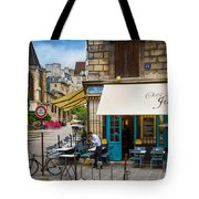 Chez Julien Tote Bag by Inge Johnsson