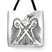 Chi Eagle Tote Bag