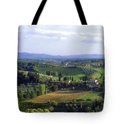Chianti Region In Italy Tote Bag by Gregory Ochocki and Photo Researchers
