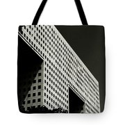 Chiaroscuro Construction Tote Bag