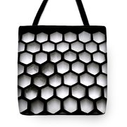 Chiaroscuro Geometry Tote Bag
