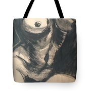 Chiaroscuro Torso - Female Nude Tote Bag